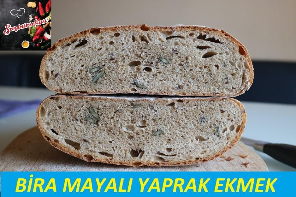 Bira Mayalı Yaprak Ekmek