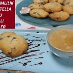 Nutella dolgulu çikolatalı kurabiye nasıl yapılır?