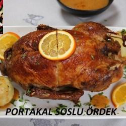 Portakal Soslu Ördek Tarifi