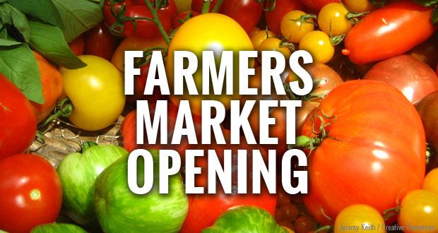 The Gatlinburg Farmers Market opens next Saturday for the 2014 season.