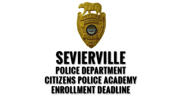 Sevierville Police Department Citizens Police Academy