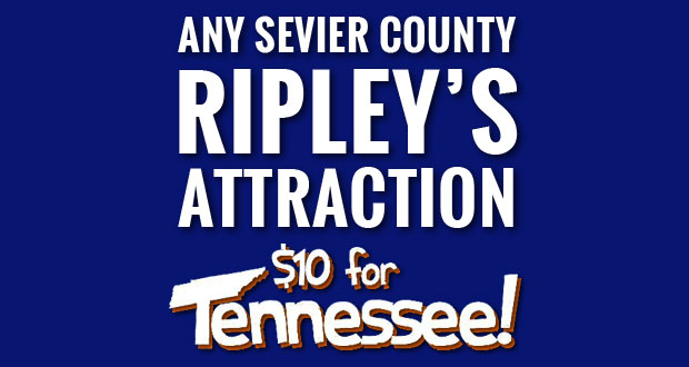 Visit Ripley's Attractions - $10 for Tennessee through Labor Day!