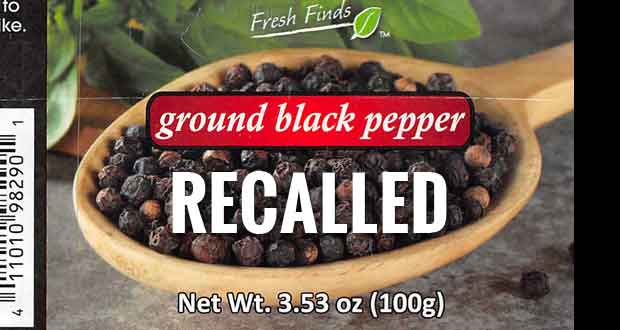 A ground black pepper recall.