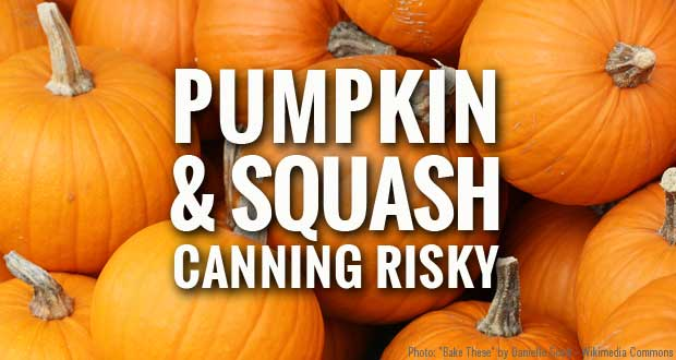 Canning Pumpkin and Squash
