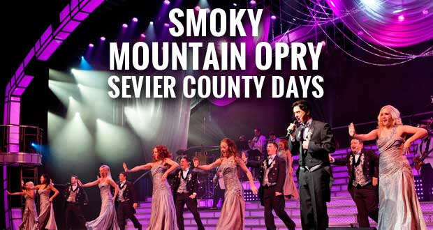 Smoky Mountain Opry offers Sevier County Days for residents.