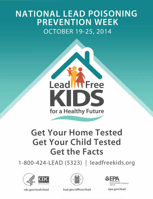 National Lead Poisoning Prevention Week 2014
