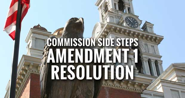 Sevier County Commission Sets Aside Resolution on Amendment 1