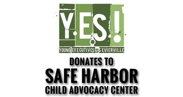 Young Executives of Sevierville donate money to Safe Harbor Child Advocacy Center