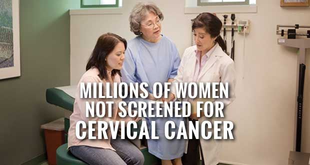 Millions of Women, Especially Southern Women, Not Getting Cervical Cancer Screening