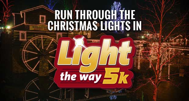 Light the Way 5k at Dollywood in Pigeon Forge