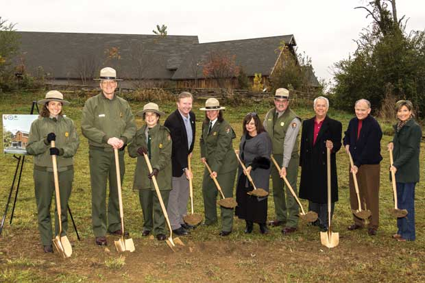 National Park Service Collections Preservation Center Groundbreaking