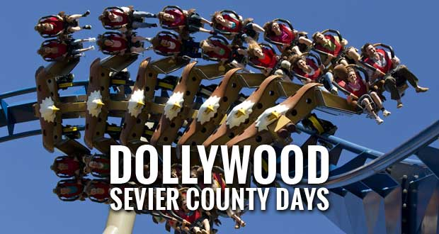 Sevier County Days at Dollywood in Pigeon Forge