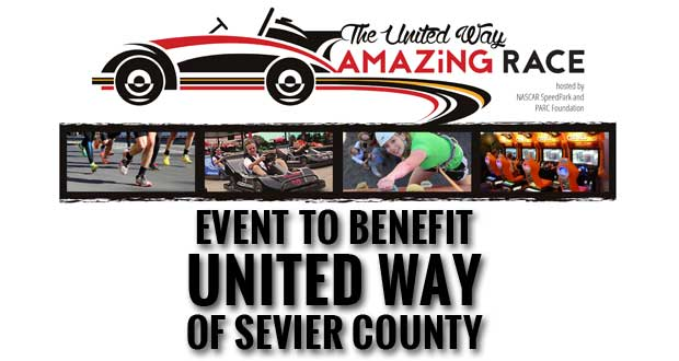Get your Team Together for the United Way Amazing Race to benefit United Way of Sevier County