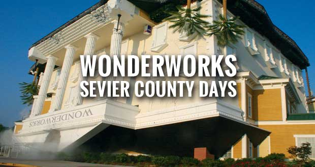 WonderWorks Offers Sevier County Days Discount