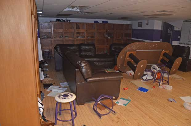 Sevier County High School vandalized