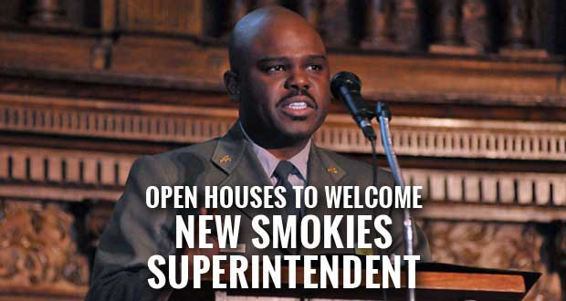 Great Smoky Mountains National Park holds open houses to welcome new Superintendent Cassius Cash to the Smokies.