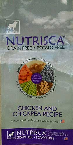 Nutrisca Dog Food Recall