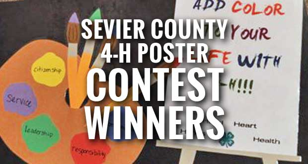 Sevier County 4-H Poster Contest Winners Announced