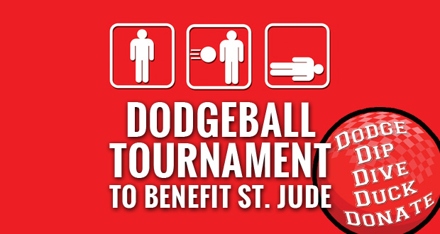 Y.E.S.! Dodgeball Tournament to Benefit St. Jude Children's Hospital