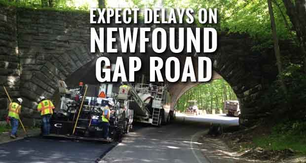 Expect Delays During Newfound Gap Road Improvement Project