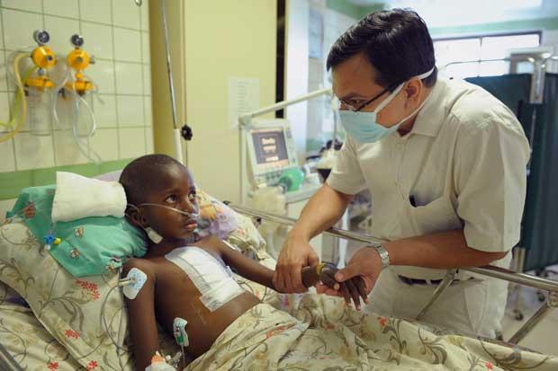 Bob Foster Runs Muskathlon to raise money for Compassion International