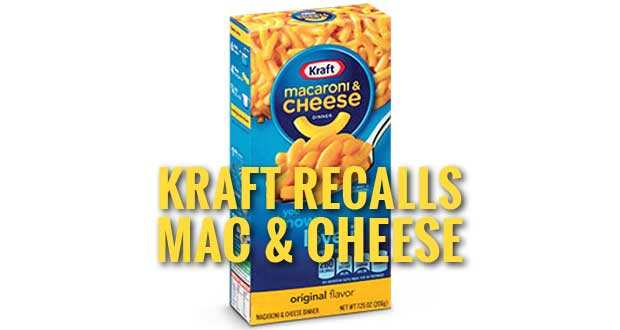 Kraft Recalls Macaroni & Cheese Over Concerns of Metal Fragments