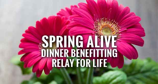 Spring Dinner Event to Raise Money for Relay For Life
