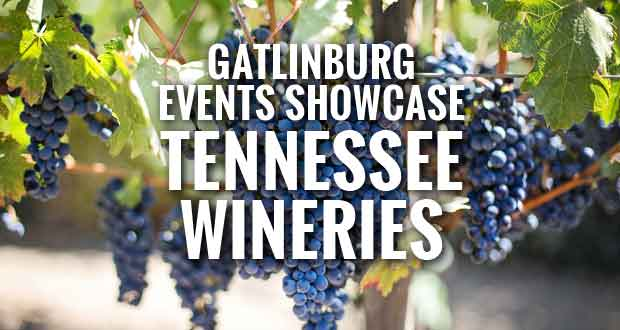 Tennessee Wines Featured at Gatlinburg Wine Events in April