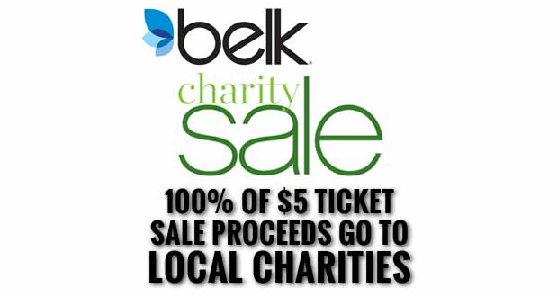 Belk Charity Sale to Benefit Sevier County Organizations