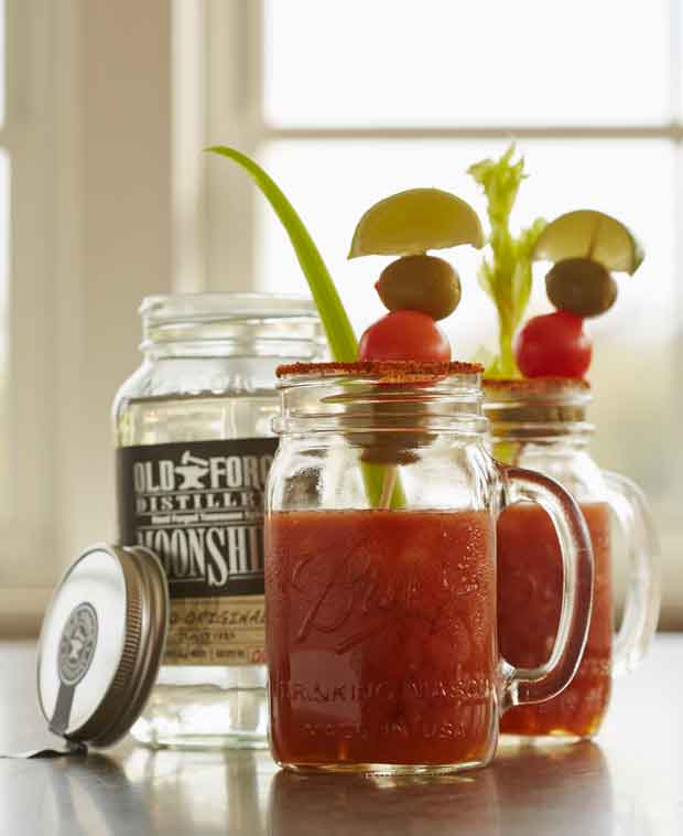 Old Forge Distillery Bloody Mary Moonshine Cocktail Recipes