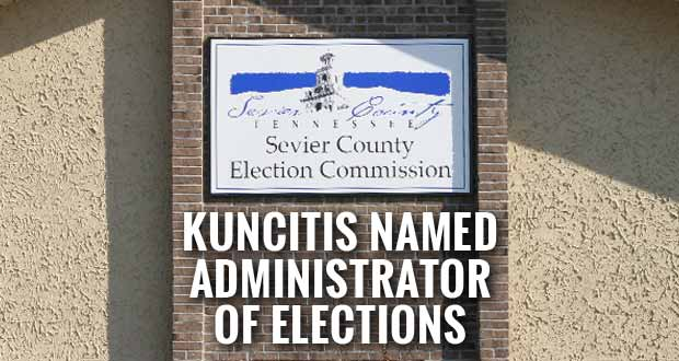 Kuncitis Named Administrator of Elections