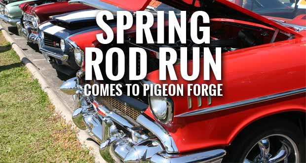 Visitors Arriving for 2015 Spring Pigeon Forge Rod Run