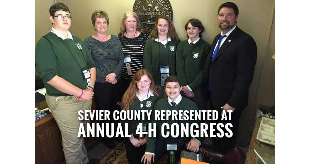 Sevier County Youth Attend Annual Tennessee 4-H Congress