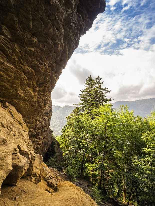 Alum Cave Trail Bluffs