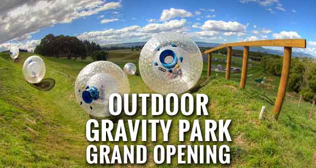 Outdoor Gravity Park Attraction Celebrates Grand Opening