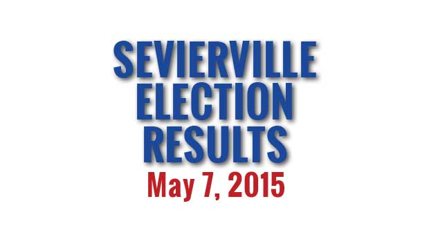 Election Results of City of Sevierville Municipal Election held May 7, 2015