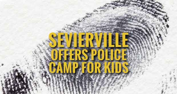 Kids Learn Basic Police Skills at Sevierville Police Camp