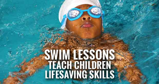 Children's Swim Lessons offered at Sevierville Community Center