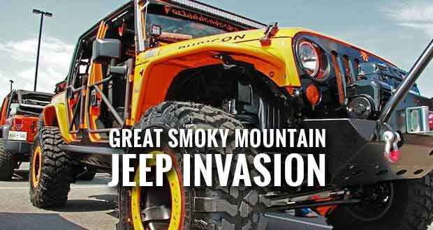 Jeep Invasion Growth Prompts Move Indoors at LeConte Center at Pigeon Forge