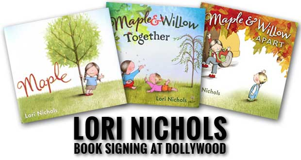 Imagination Library Hosts Children's Author Lori Nichols at Dollywood