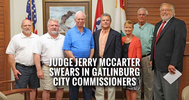 Gatlinburg City Commissioners Sworn In