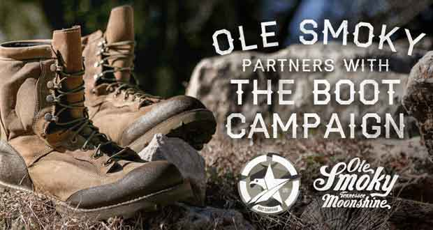 Boot Campaign and Ole Smoky Tennessee Moonshine Team Up for Military Families