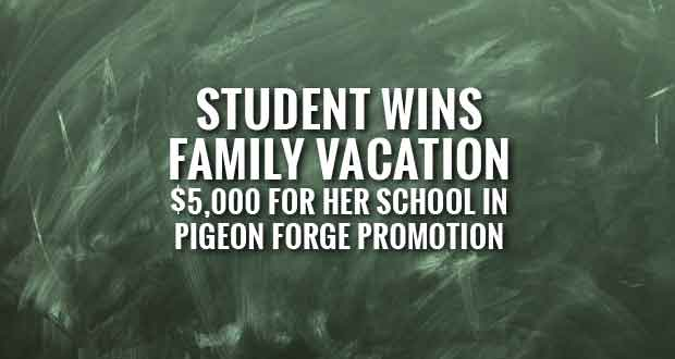 Georgia Student Wins Pigeon Forge Super Students Promotion
