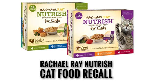 Rachael Ray Nutrish Cat Food Recall Issued