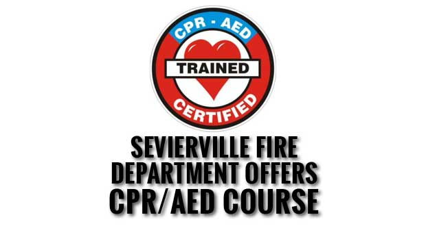 Learn to save a life at CPR and AED Certification Course in Sevierville