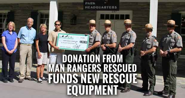 Park Receives Donation for Search and Rescue Program