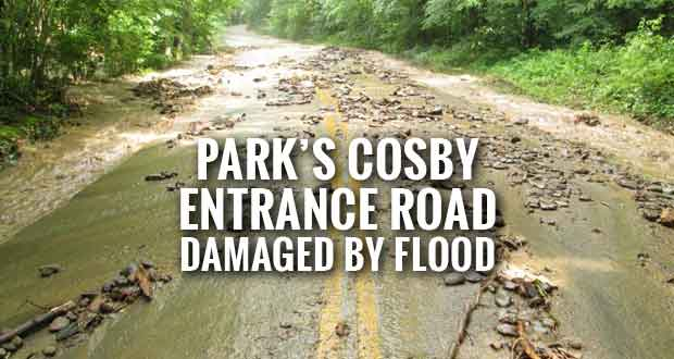 Park Closes Cosby Area Due to Storm Damage