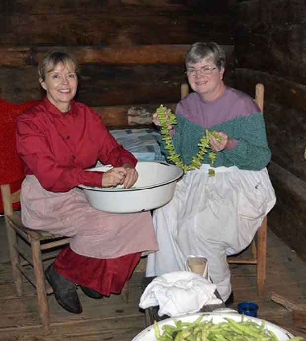 Great Smoky Mountains National Park Hosts Women's Work Festival at Mountain Farm Museum