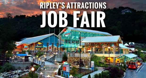 Sevier County Ripley Attractions Host Job Fair