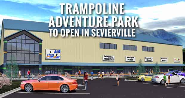 Sevier Air Trampoline Park to Offer Trampolines, Dodgeball and Ninja Courses